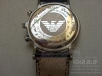 Нанесение изображения на часы Armani