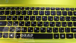 Сделать русские буквы на ноутбук в Минске
