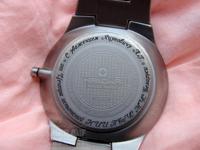 Лазерная гравировка на наручных швейцарских часах в Минске за 15 минут