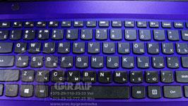 Лазерная гравировка Graf Минск на клавиатуре